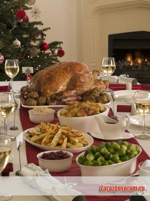 Европейские новогодние блюда