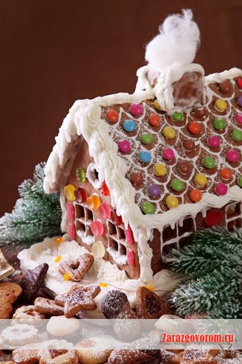 Украшение новогоднего торта: немного фото