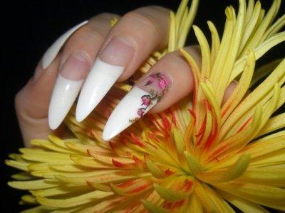 Ногти острые: дизайн. Дизайн ногтей острой формы
