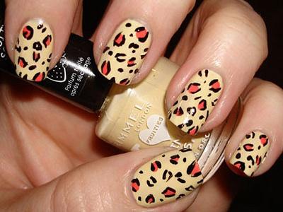 леопардовый маникюр в домашних условиях, фото