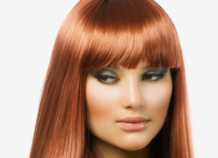 Макияж для рыжих волос: для карих глаз