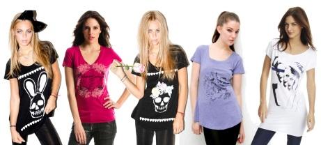 Модные футболки для девушек