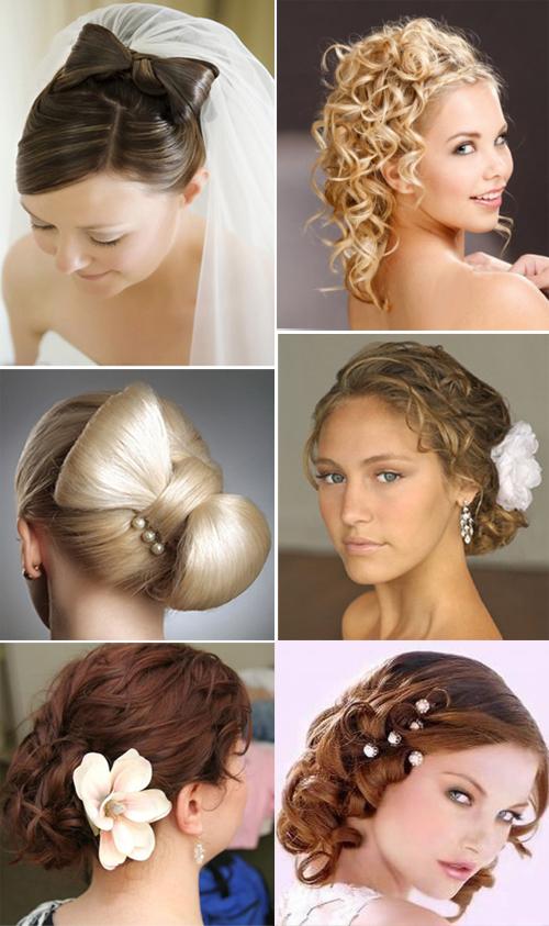 Примеры причёсок на средние волосы