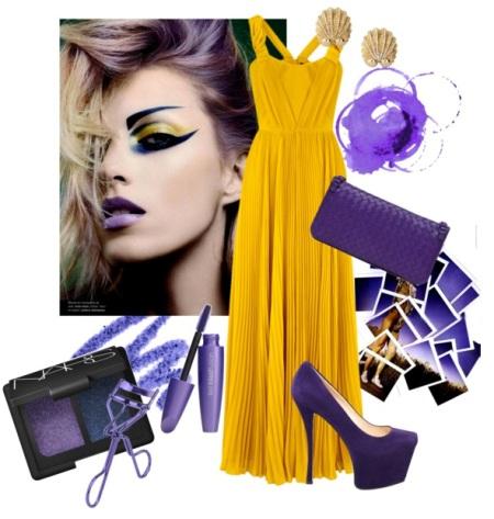 Страсть фиалки: фиолетовая сумка с чем носить?