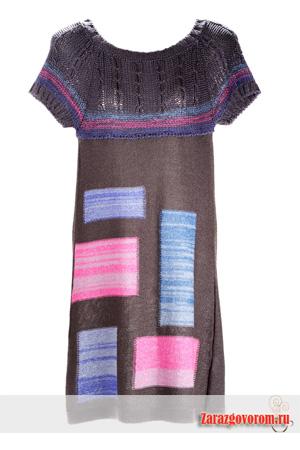 Модели платьев из трикотажа: фото