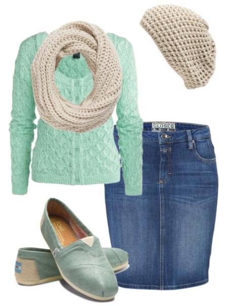 Джинсовая юбка: фасоны и модели. С чем носить джинсовую юбку?