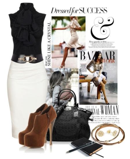 Прямая юбка: модные модели. С чем носить прямую юбку?
