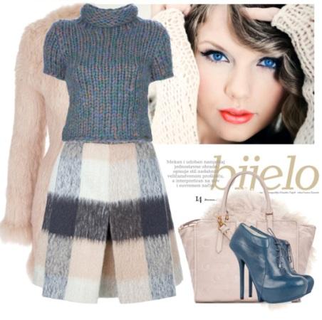 Модные юбки в клетку: фото моделей и фасонов. С чем её носить?