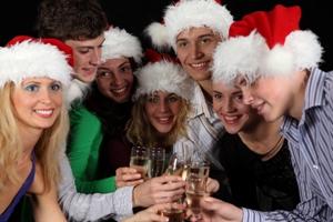 Новогодние развлечения за столом