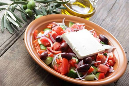 Основа рациона средиземноморского питания