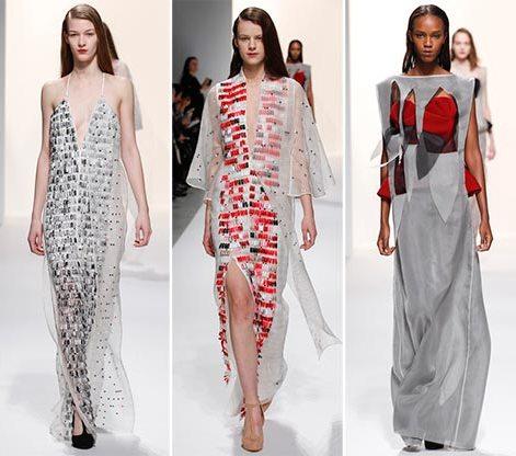 Chalayan fall winter 2014 2015 collection Paris Fashion Week10