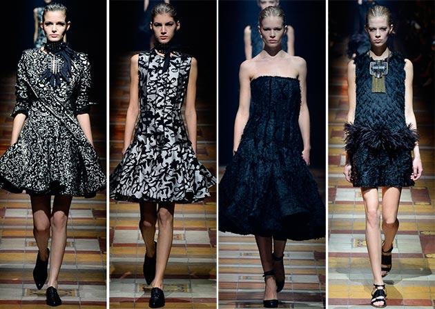 Lanvin fall winter 2014 2015 collection Paris Fashion Week10
