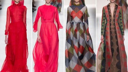 Вечерние платья, модные осенью-зимой 2014/2015
