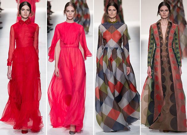 Valentino fall winter 2014 2015 collection Paris Fashion Week15