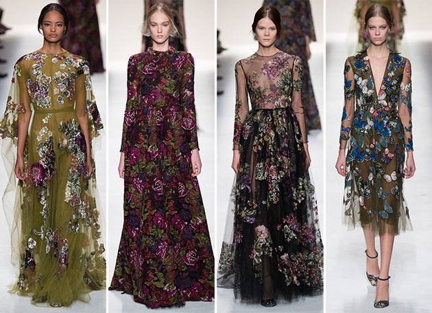 Valentino fall winter 2014 2015 collection Paris Fashion Week17