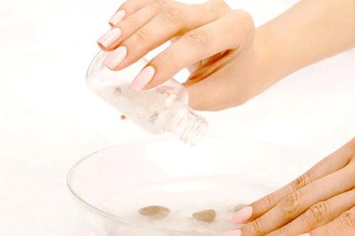 Маски для ногтей в домашних условия