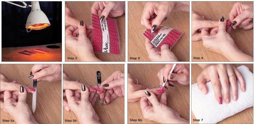 как сделать минкс маникюр
