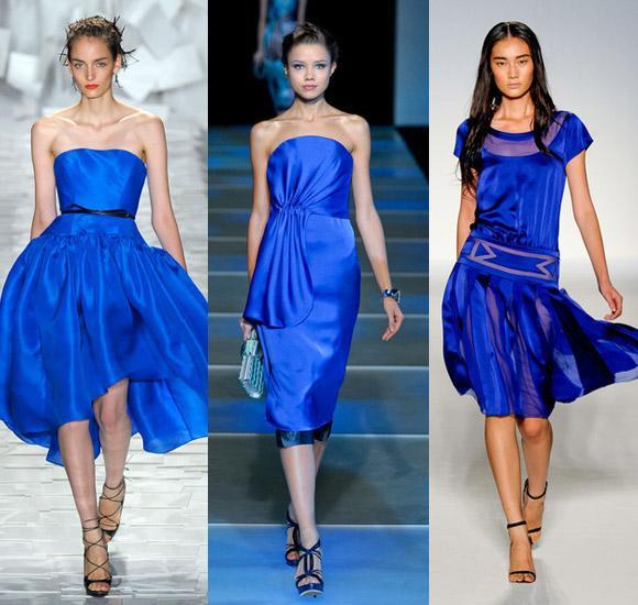 Синее платье: для юных принцесс и элегантных королев