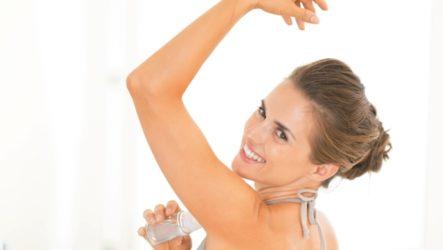 Как устранить запах пота без дезодорантов?