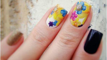 Дизайн ногтей со стикерами — как пользоваться наклейками для ногтей