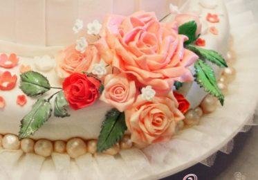 Мастер-класс по созданию бутонов и листьев роз из мастики