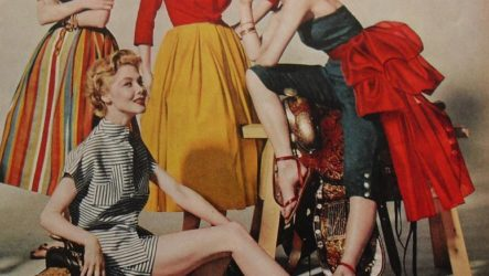 Одежда в стиле 50 — х или стиль 50-х в одежде