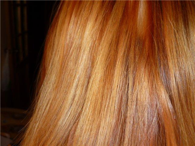 Как убрать с волос желтый цвет