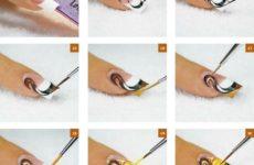 Дизайн ногтей шаг за шагом. Рисунки на ногтях по шагам