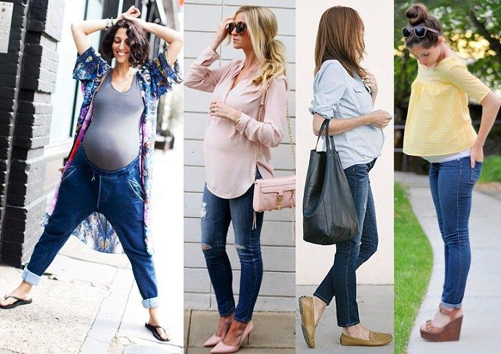 Что лучше носить беременным фото