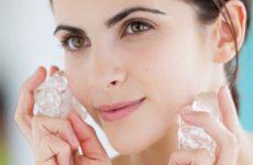 Кубики льда для лица — для молодости и красоты кожи