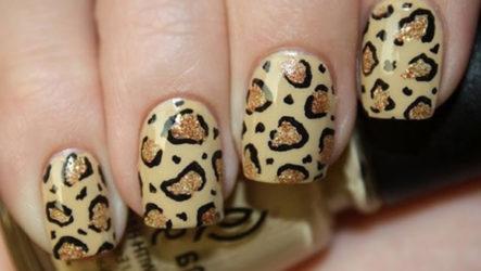Как сделать леопардовый маникюр в домашних условиях?