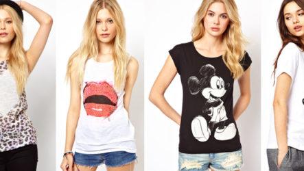 Сексуально, легко и стильно! Модные футболки для девушек