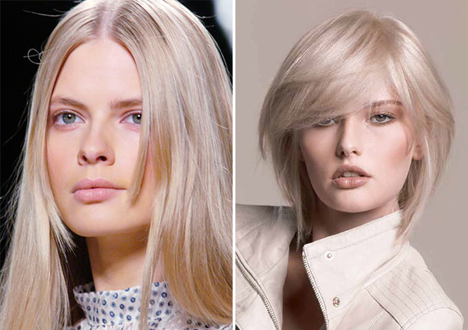 Модный окрас для блондинок 2017