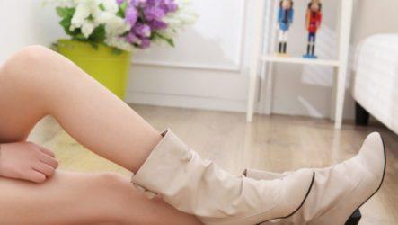 Бежевые сапоги. С чем их носить и правильно сочетать?