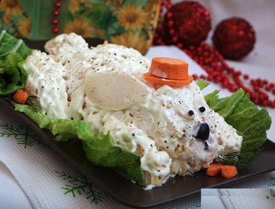 какой салат можно приготовить на новый год 2018