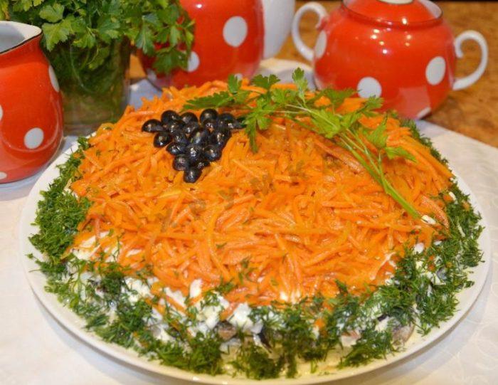 salat yablochko
