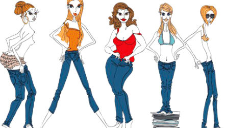 Типы женских фигур — подбор гардероба