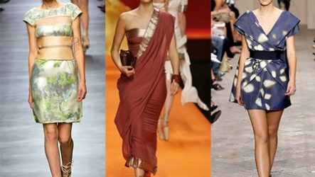 Восточный стиль в одежде — яркость красок и богатство тканей…